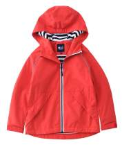 M2C Boys Girls Hooded Cotton Lined Waterproof Jackets