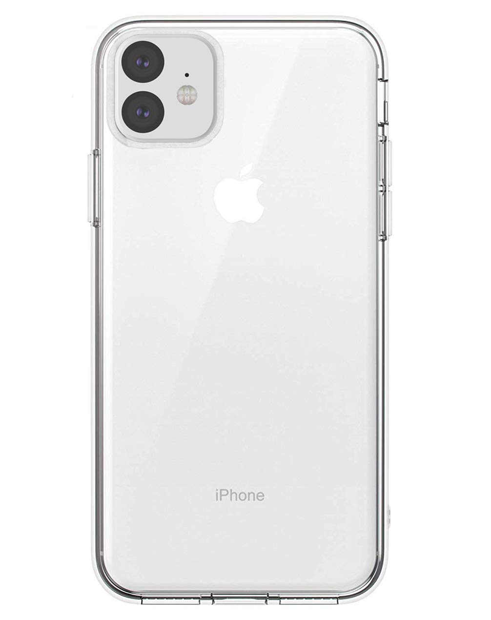 zisure 11 Cases Crystal Clear Soft TPU Cases Slim Fit for 6.1 inch iPhone 11