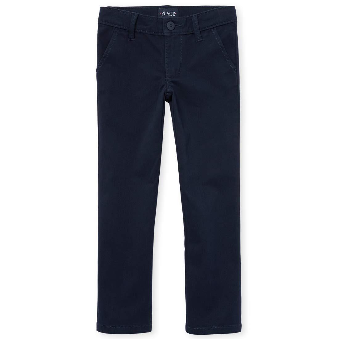 The Children's Place Girls' Skinny Uniform Pants
