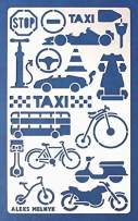 Aleks Melnyk #22 Metal Journal Stencil/Car Transport/Stainless Steel Stencil 1 PCS/Template Tool for Wood Burning, Pyrography and Engraving/Scrapbooking/Crafting/DIY