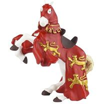 Papo Red King Richard's Horse Figure, Multicolor