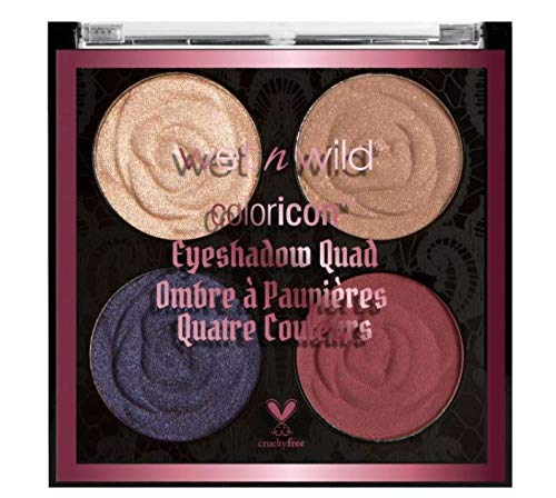 wet n wild Rebel Rose Color Icon Eyeshadow Quad, Secret Garden Rendezvous