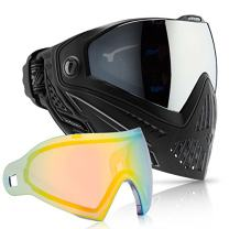 Dye i5 Paintball Goggle (Onyx with Northern Lights Thermal Lens Combo)