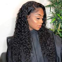 Dreamlike Virgin Hair Ear To Ear 13x4 Lace Front Water Wave Wigs For Women 10A Remy Hair Wet And Wavy Wigs Pre Plucked With Baby Hair Natural Hairline 22inch