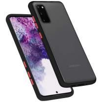 Goospery Protective Slim Bumper for Samsung Galaxy S20 Case (2020) Protective Slim Bumper Case (Black) S20-PEA-BLK