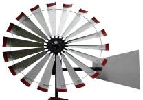 60-inch Windmill Head w/Plain Rudder, Build a 20-Foot Tall Windmill
