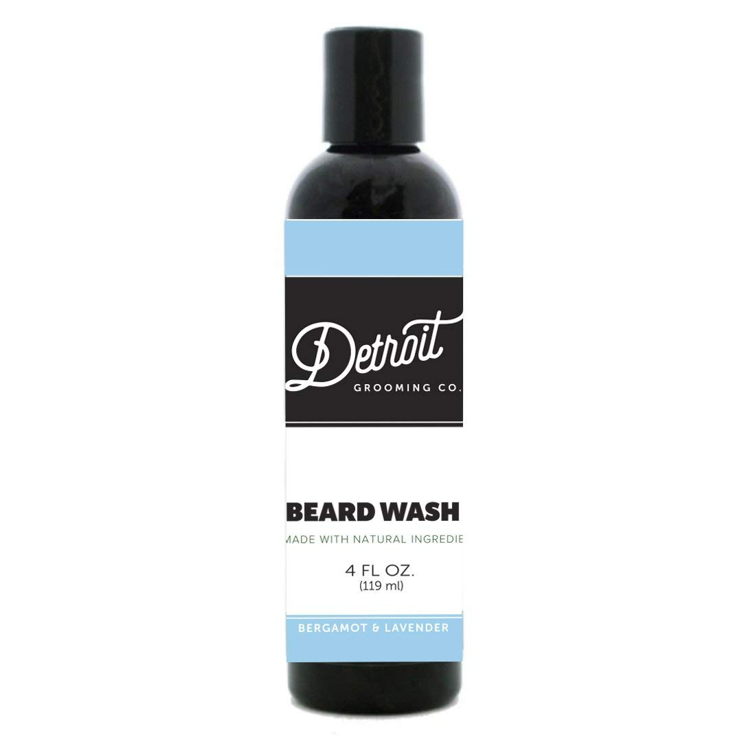 Beard Poo - 4oz Beard Shampoo & Beard Wash - Detroit Grooming Co. - Beard Conditioner & Cleaner