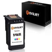 Novajet Remanufactured Ink Cartridge Replacement for Canon CL-246XL Used in Canon PIXMA iP2820 MG2420 MG2520 2920 MG2922 MG2924 MX492 MX490 Printer (1 Tricolor)