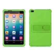 Lenovo TAB 4 8 Kids Case - Light Weight Shock Proof Soft Silicone Back Cover for Lenovo Tab 4 8 Inch(TB-8504F or TB-8504X)HD Tablet 2017 Release, (NOT for TB-8304F or Plus Model TB-8704) (Green)
