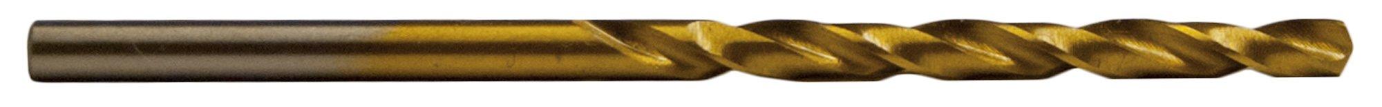 """Century Drill & Tool 88404 Titanium Drill Bit, 1/16"""", 2 Pack"""
