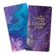 Paper House Productions JBB0007 Stargazer JourneyBook Insert Set for Standard Size Traveler's Notebook Dot Grid