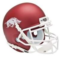 Schutt NCAA Arkansas Razorbacks Mini Authentic XP Football Helmet