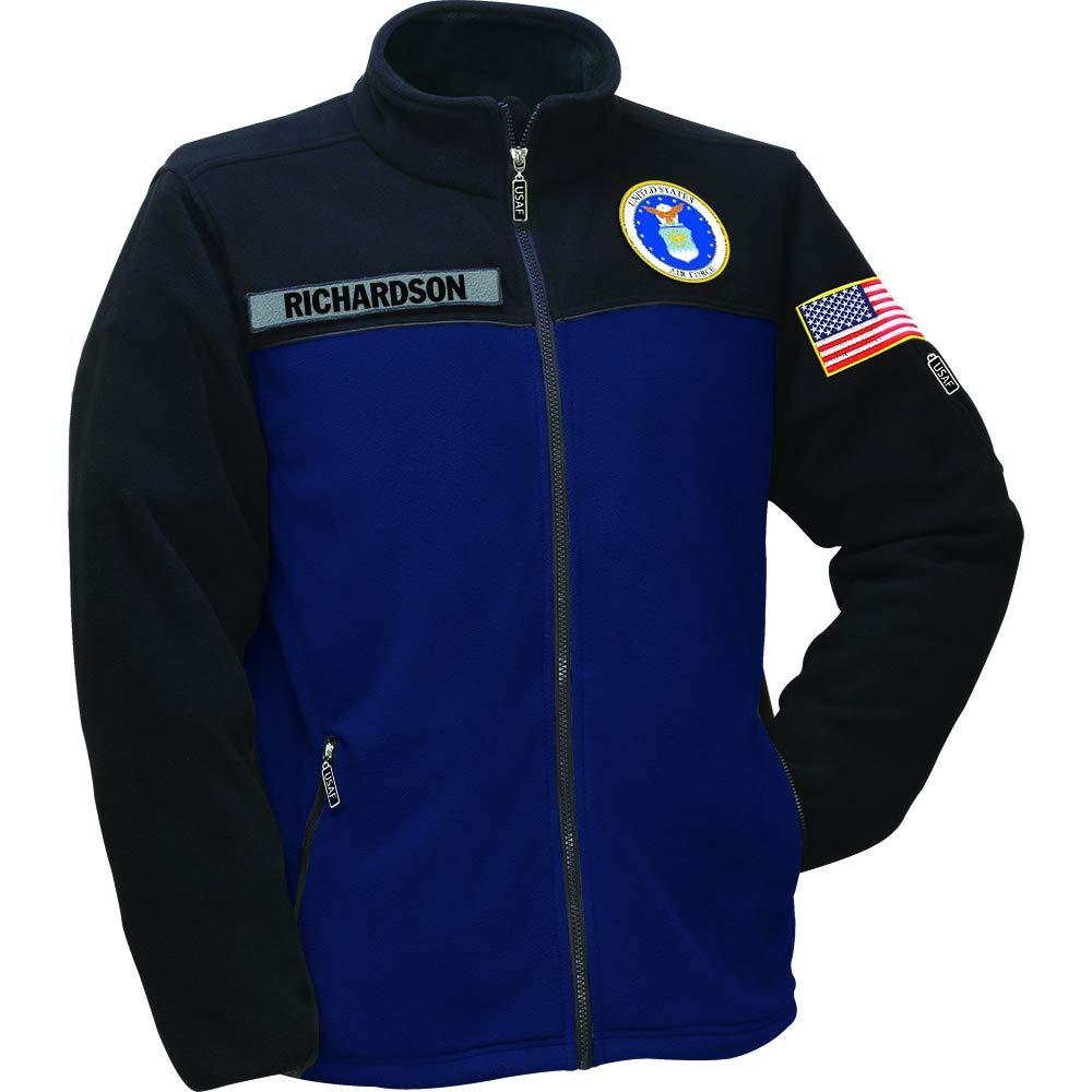 The Danbury Mint U.S. Air Force Fleece Jacket - XXL #1662-007