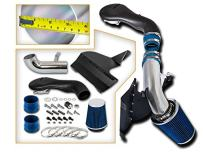 Cold Air Intake System with Heat Shield Kit + Filter Combo BLUE Compatible For 96-04 Chevy S10/ Chevy Blazer / 96-01 GMC Jimmy / 96-04 GMC Sonoma V6 4.3L