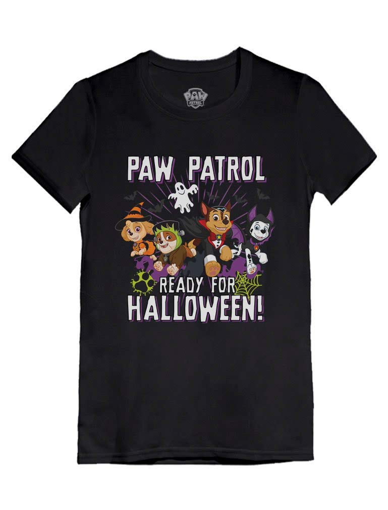 Paw Patrol Marshall Skye Chase Rubble Halloween Infant Girls' Fitted T-Shirt