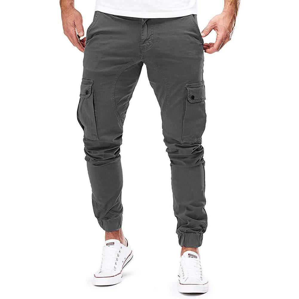 Uni Clau Fashion Men Gym Jogger Pant Workout Running Sweatpants Athletic Pant with Pocket