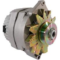 DB Electrical ADR0152Y Alternator for Agriculture & Industrial Applications 1-Wire Hookup, 12 Volt, CW, 63 AMP / 10459509 /8NE10305SE /Used when replacing generator w/wide belt