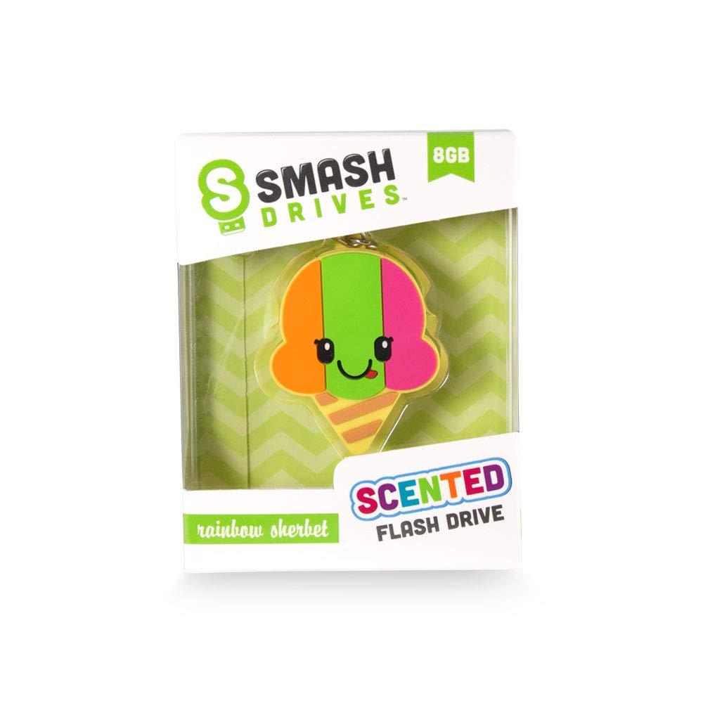 Scentco Smash Drives - 8GB Scented Silicone Flash Drives (Rainbow Sherbet)