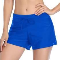 Summer Mae Women Swimsuits Shorts Side Split Adjustable Beach Tummy Control Swimwear Trunks