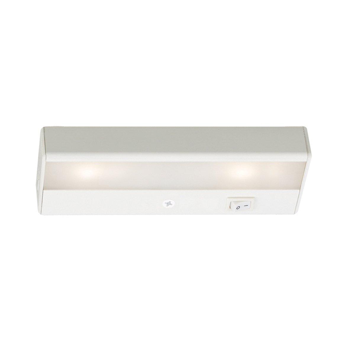 """WAC Lighting BA-LED2-27-WT 2700K Warm White LEDme 120V Light Bar, 8"""", White"""