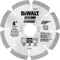 DEWALT DW4783 5-Inch HP Segmented Diamond Blade