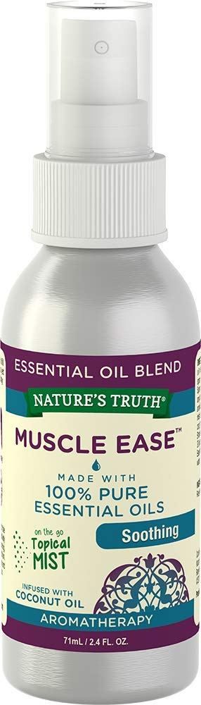 Nature's Truth Soothing Muscle Ease Mist Spray,2.4 Ounce