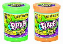 JA-RU Flarp Noise Fart Putty (Pack of 2) Plus 1 Bouncy Ball Fart Noise Maker Slime | Item #10041-2A
