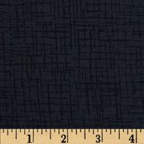 "Westrade Textiles 110"" Wide Quilt Back Betula Flannel Fabric by The Yard, Charcoal"