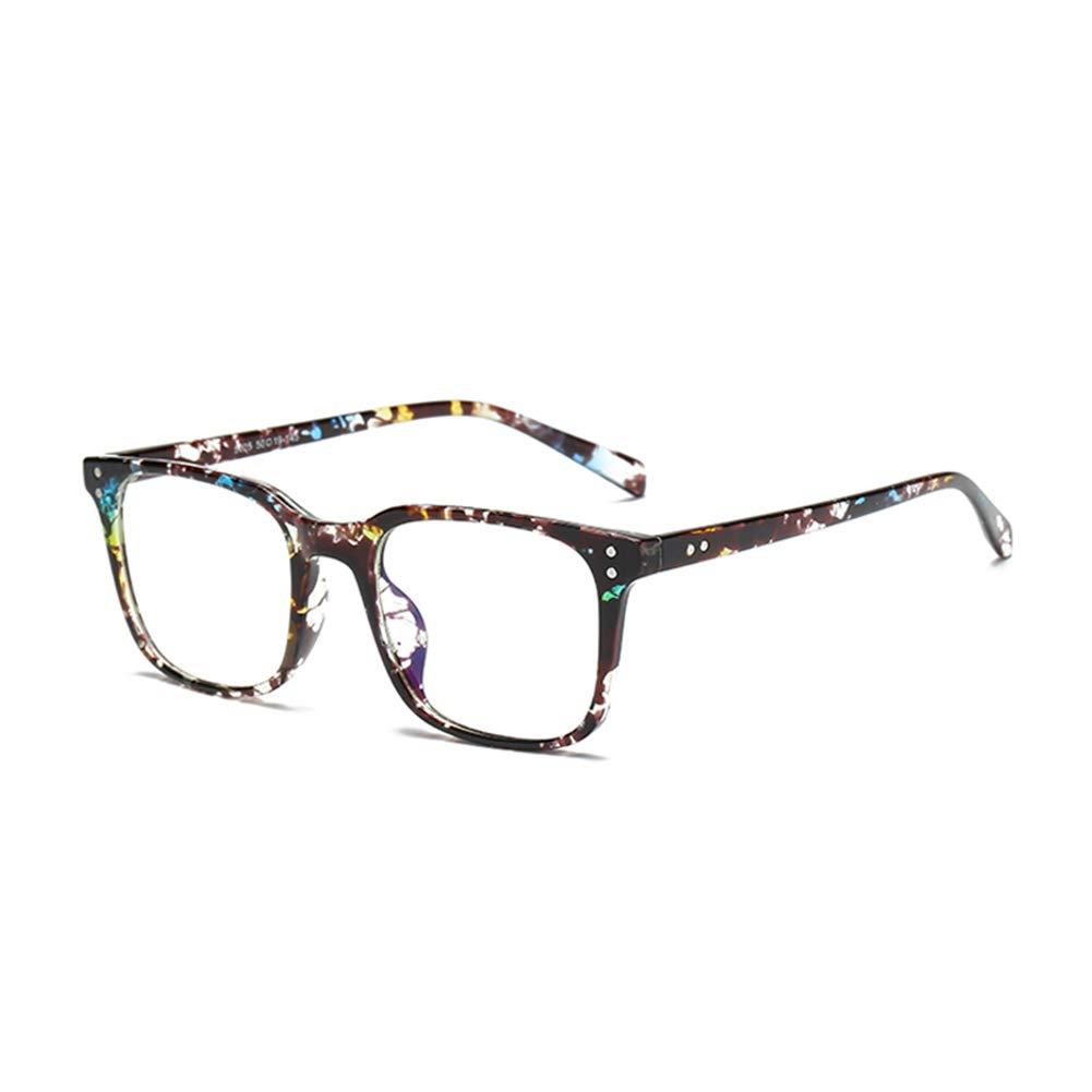 Karsaer Blue Light Blocking Glasses Women Men Anti Eyestrain Computer Eyeglasses Large Square TR90 Frame