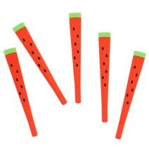 WIN-MARKET Cute Lovely Cartoon Watermelon Gel ink Pens funny School Stationery Office Supplies (6PCS)
