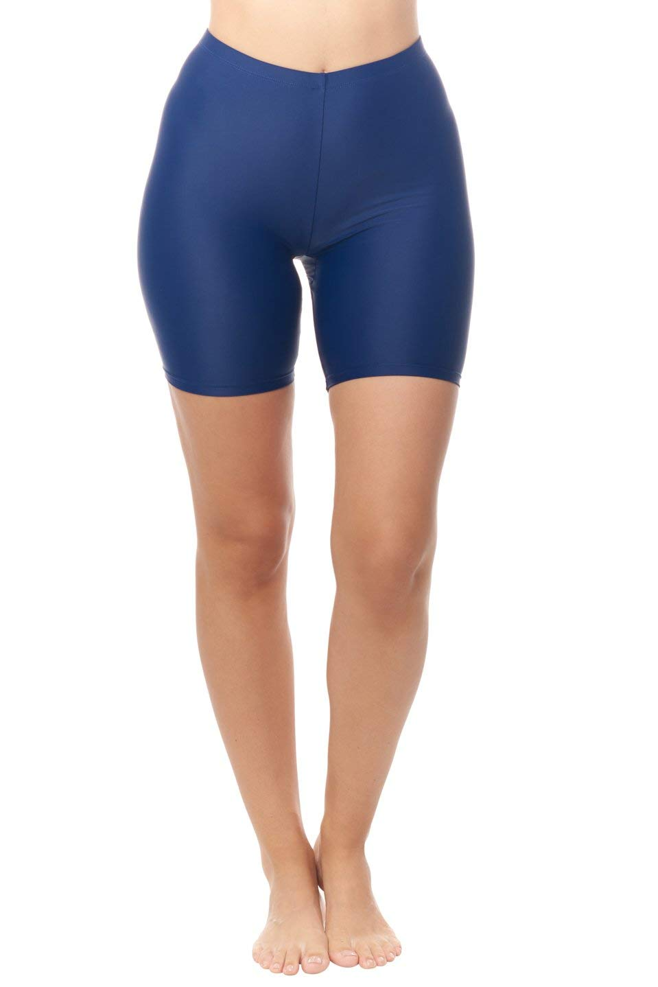Love My Curves Bike Short Swim Bottom | Quick Dry Shapewear Bathing Suit