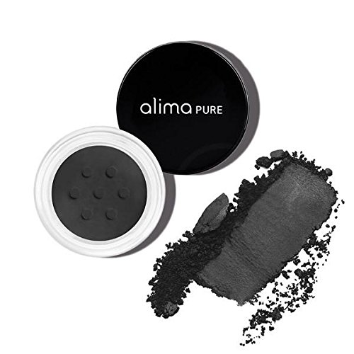 Alima Pure Satin Matte Eyeshadow - Black