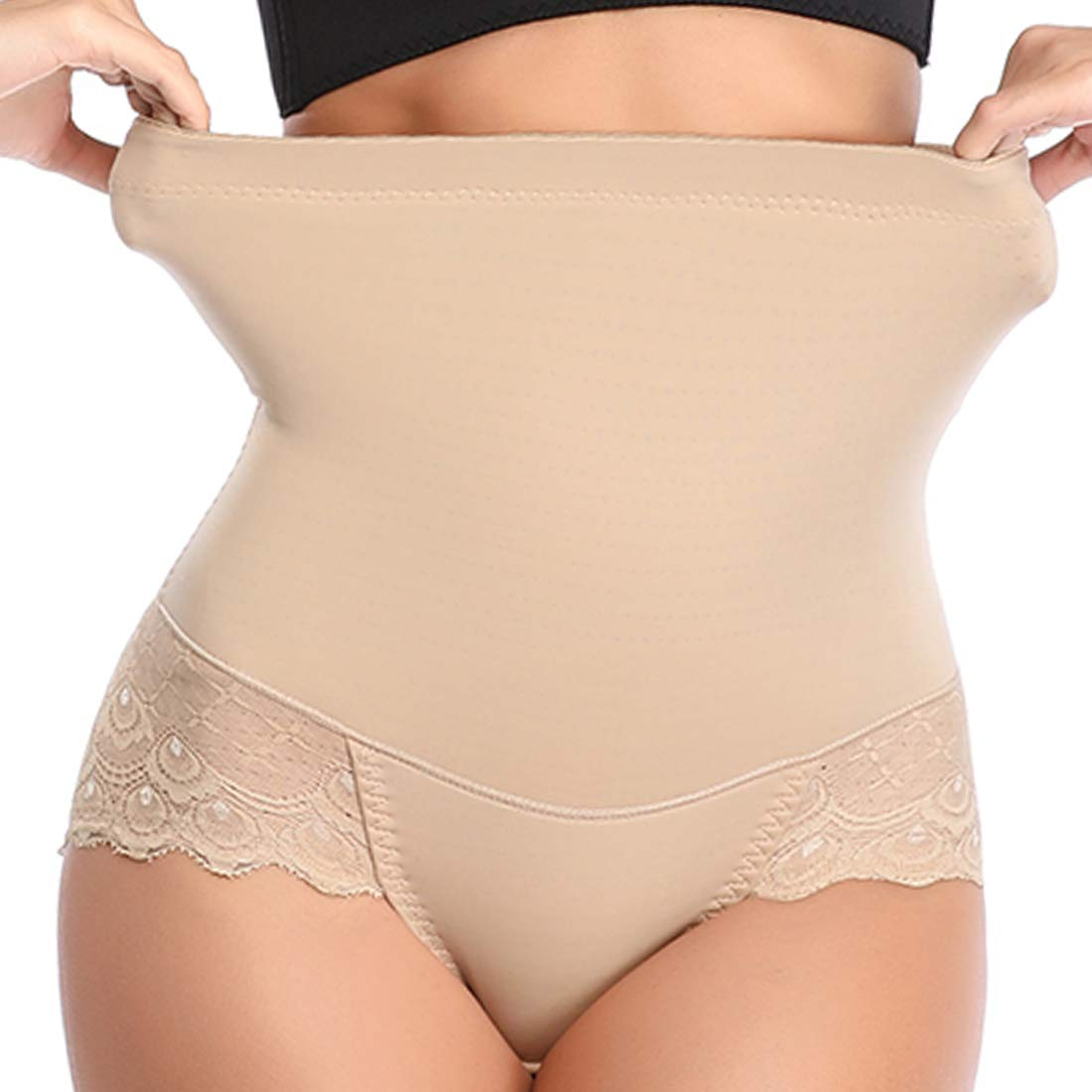 Shapewear Panties for Women Tummy Control High Waist Lace Briefs