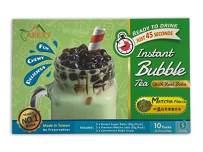 Bubble Tea COMPLETE SET. BEST DIY Boba / Bubble Tea Kit, Ready In 45 Seconds, 5 Packs Milk Tea Powder + 5 Packs Brown Sugar Tapioca Pearls+ 5 Bubble tea Straws By APEXY (Matcha Green Tea)