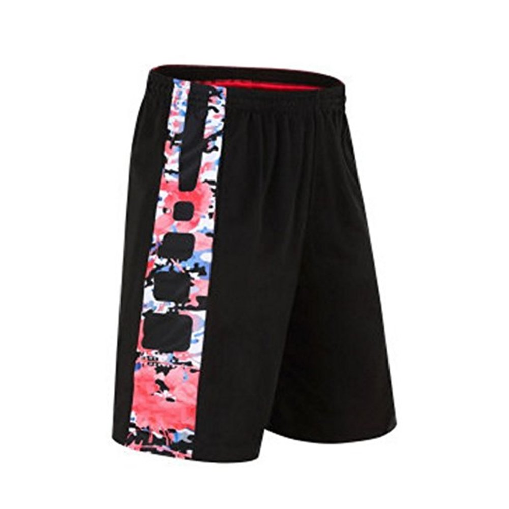 iKRR Men's Mesh Basketball Athletic Loose Training Workout Sports Shorts with Pockets