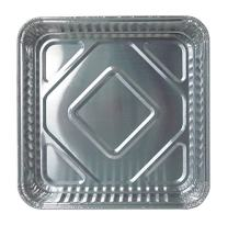 """Durable Packaging Disposable Aluminum Square Cake Pan, 8"""" x 8"""" x 1-5/16"""" (Pack of 500)"""