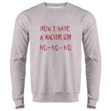 Yippee Ki Yay Now I Have a Machine Gun Nakatomi Crewneck Sweatshirt for Men