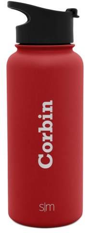 Simple Modern Water Bottles - Custom, Summit 32oz - Flip Lid, Cherry