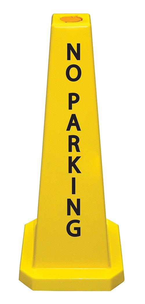 "Cortina Lamba 36"" Cone 'No Parking', 03-600-11, Yellow"
