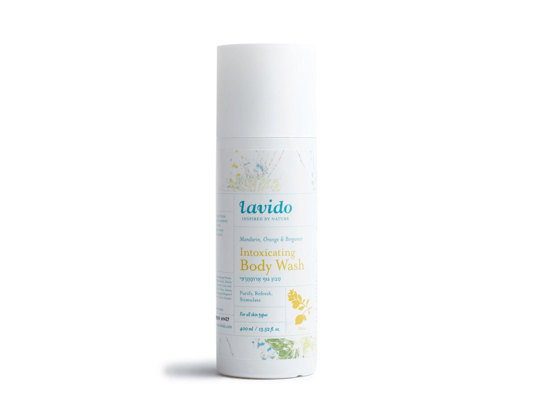 Lavido - Intoxicating Natural Body Wash (Mandarin | 400 ml) | Clean, Non-Toxic Skincare