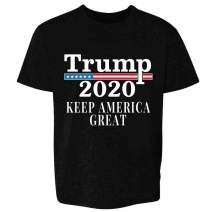Donald Trump 2020 Pro Trump MAGA Merchandise USA Youth Kids Girl Boy T-Shirt