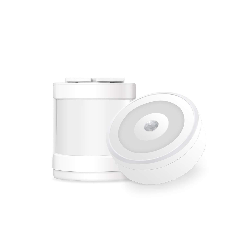 Yiroka Motion Sensor Alarm, Wireless Home Security Driveway Alarm, Motion Sensor Detect Alert (150M/500FT, 58 Chimes, 4 Volume Levels, Night Light), 1 Motion Detector (1 Receiver + 1 Motion Detector)