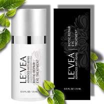 LE'VEA Anti-Aging Eye Cream for Instant eye Wrinkle Repair Eye Puffiness Dark Circles Reduce Professional Formula Eye Treatment Complex - 0.5 oz