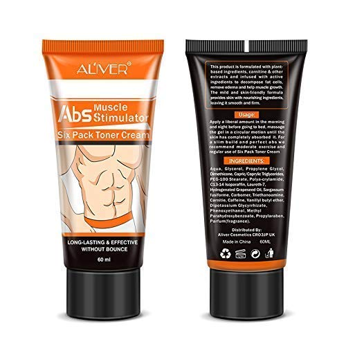 Arishine Fat Burning Cream,Abdominal Muscle Cream Fat Burner Cellulite Creams Tighten Muscles, Slimming Enhancer Workout Coconut Body Cream for Weight Losing