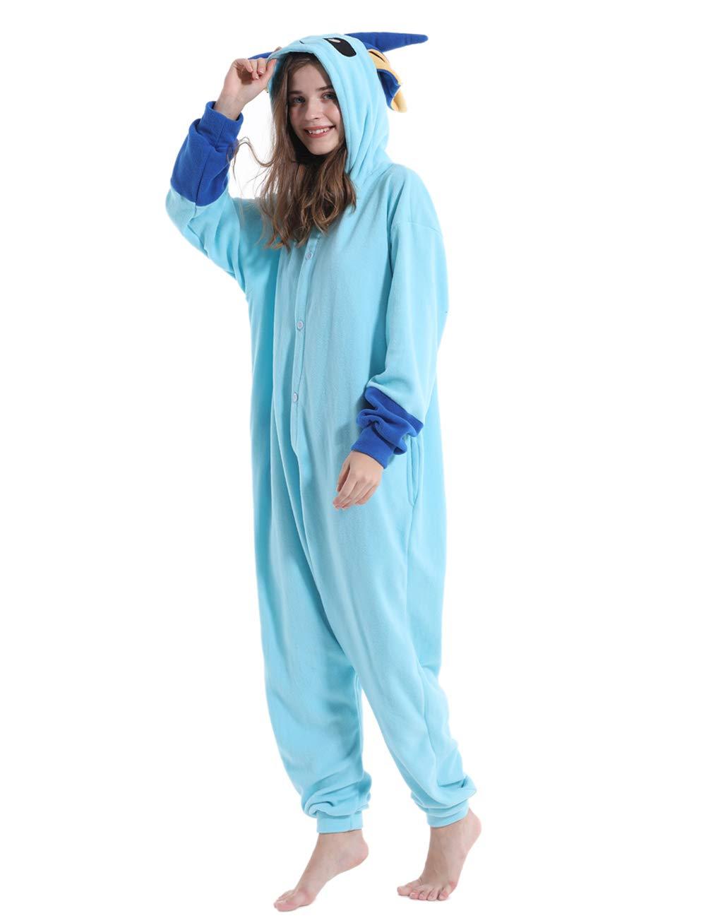 Adult Onesie Pajamas Unisex Animal Homewear Sleepwear Jumpsuit Costume