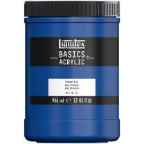 Liquitex BASICS Acrylic Paint, 32-oz jar, Primary Blue