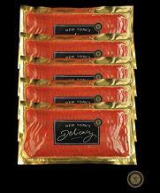 5 x 1 Lb. New York's Delicacy, Most Awarded Pre-Sliced Smoked Salmon Nova. (5 Lb.)
