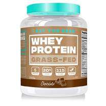 Eat the Bear, Naturally Grass Fed Whey Protein Powder, Keto Friendly Protein Powder, 115 Calories, All Natural, Gluten Free (25 Servings, Chocolate)