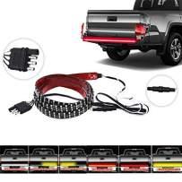 60 Inch Triple Row Truck Tailgate Light Strip Turn Signal Brake Reverse Stop Tail Light LED Tailgate Light Bar