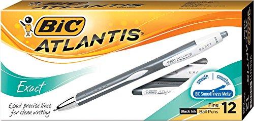 50-Count 1.00mm Tip Black Linc Offix Trisys Triangular Ball Point Pen